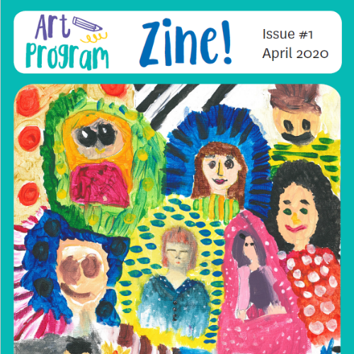 Kids get crafty with the Art Program's new zine